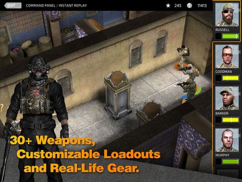 games similar to Breach & Clear