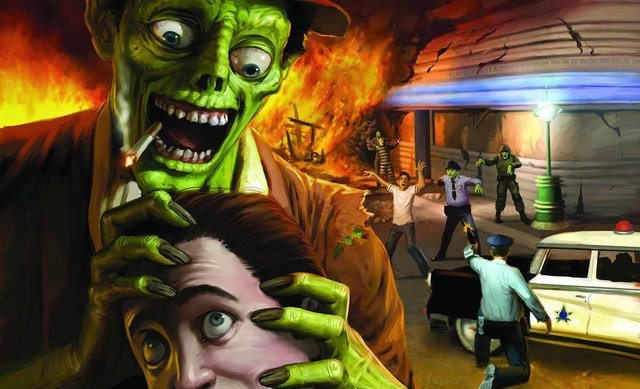 games similar to Stubbs the Zombie in Rebel Without a Pulse