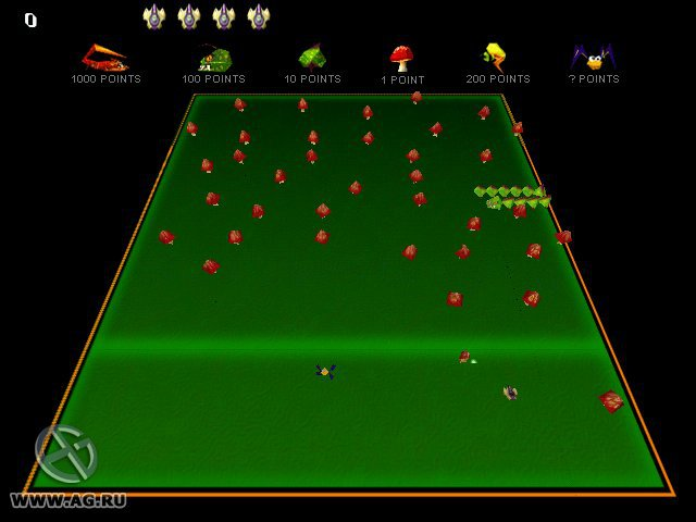 games similar to Centipede (1998)