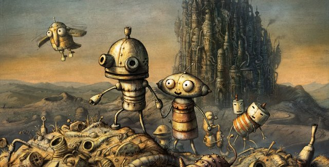 games similar to Machinarium