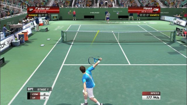 games similar to Virtua Tennis 3