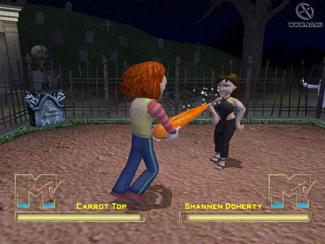 games similar to MTV's Celebrity Deathmatch