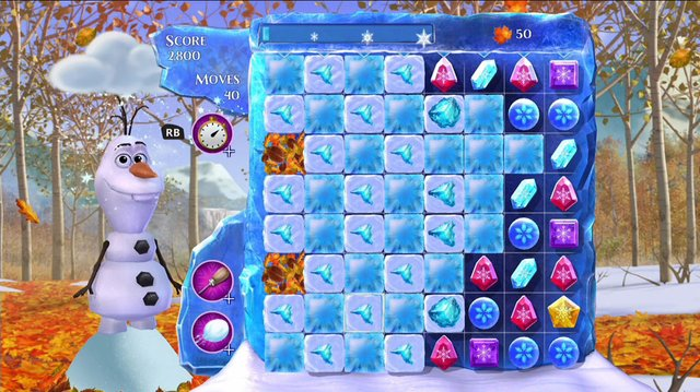 games similar to Frozen Free Fall: Snowball Fight