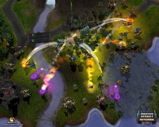 games similar to Massive Assault Network 2