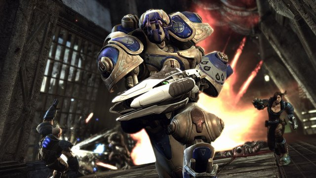 games similar to Unreal Tournament 3 Black