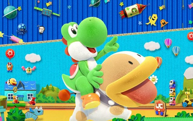 games similar to Yoshi's Crafted World