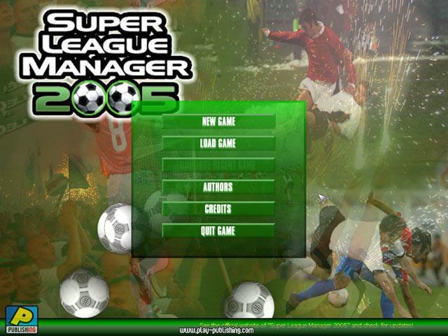games similar to Super League Manager 2005
