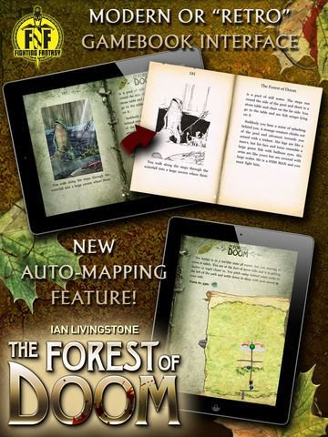 games similar to Fighting Fantasy: The Forest of Doom