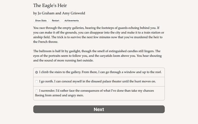 games similar to The Eagle's Heir