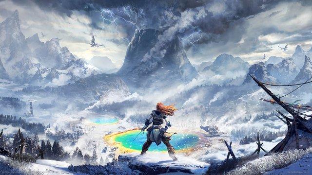 games similar to Horizon Zero Dawn: The Frozen Wilds