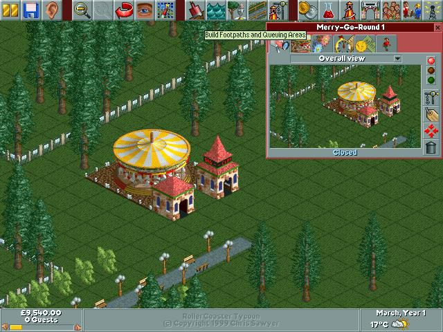 games similar to RollerCoaster Tycoon