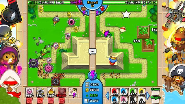 games similar to Bloons TD Battles