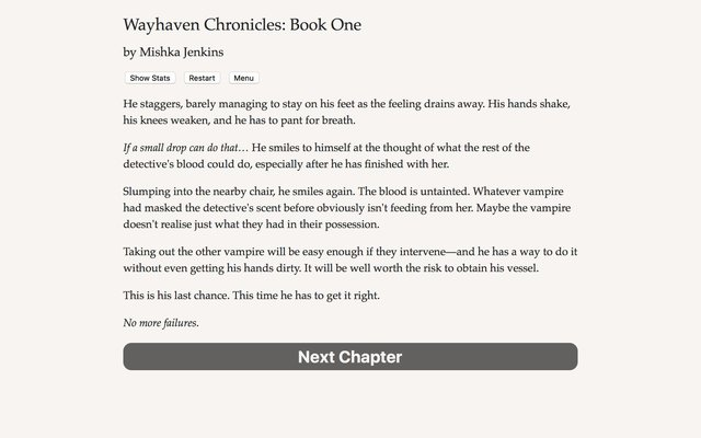 games similar to Wayhaven Chronicles: Book One