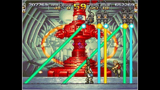 games similar to ACA NEOGEO METAL SLUG 4