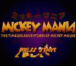 games similar to Mickey Mania