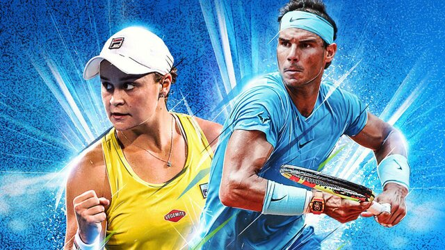 games similar to AO Tennis 2