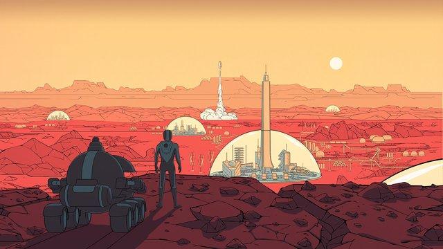 games similar to Surviving Mars