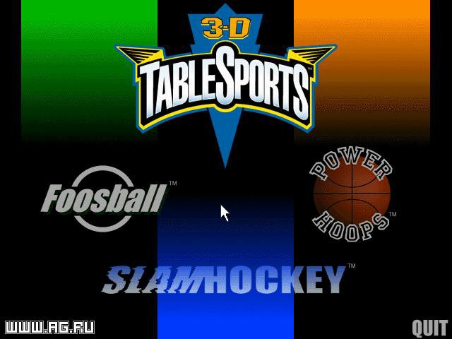 games similar to 3 D Table Sports