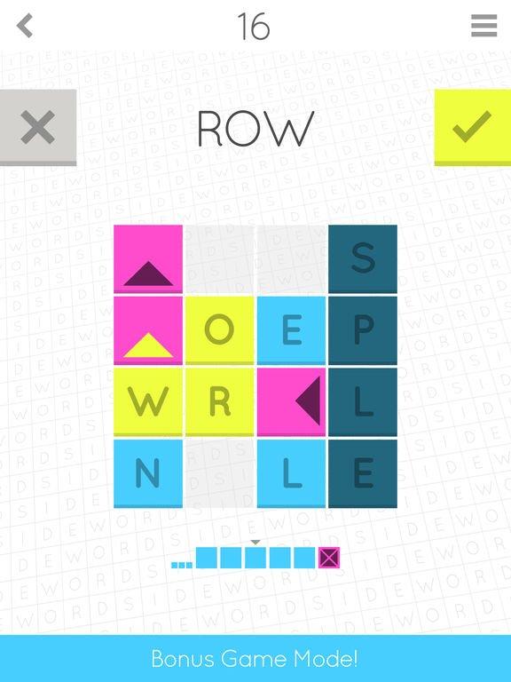 games similar to Sidewords