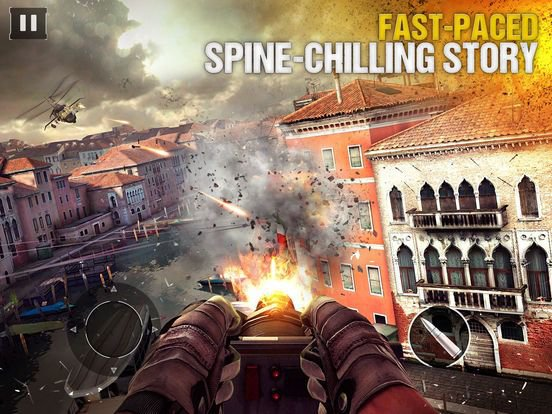 games similar to Modern Combat 5: The Multiplayer eSports Shooter