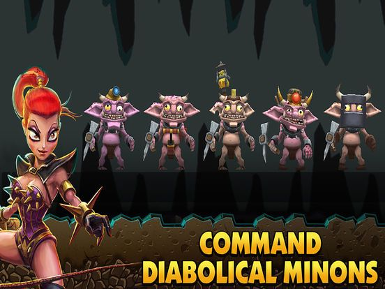 games similar to Dungeon Keeper (mobile)
