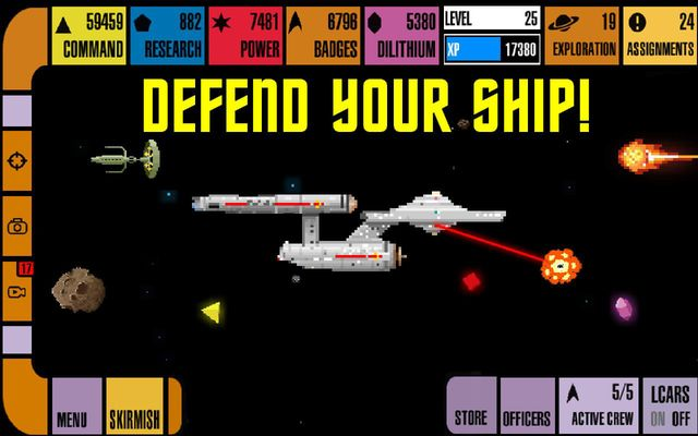 games similar to Star Trek Trexels