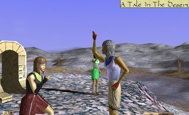 games similar to A Tale in the Desert