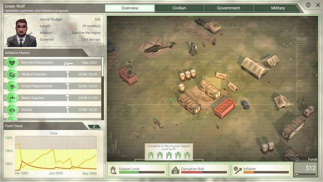 games similar to Rebel Inc: Escalation