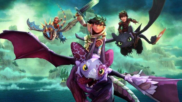 DreamWorks Dragons Dawn of New Riders