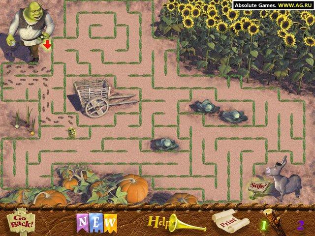 games similar to Shrek: Game Land Activity Center