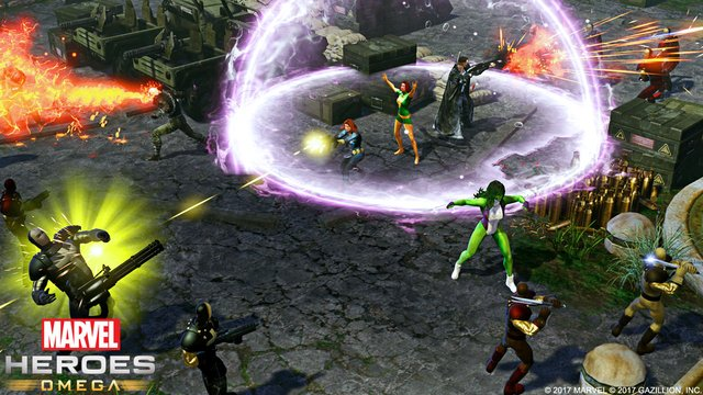 games similar to Marvel Heroes