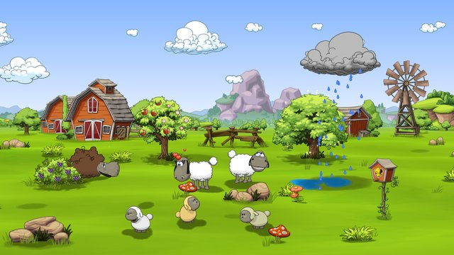 games similar to Clouds & Sheep 2