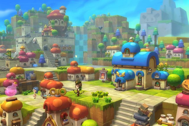 games similar to MapleStory 2