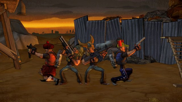 games similar to Shoot Many Robots