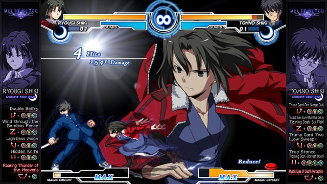 games similar to Melty Blood Actress Again Current Code