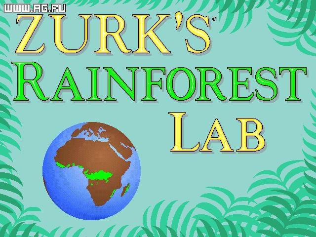 games similar to Zurk's Rainforest Lab