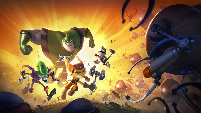games similar to Ratchet & Clank: All 4 One