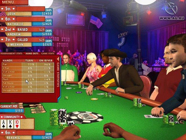 games similar to World Series of Poker