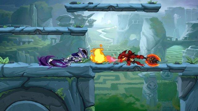 games similar to Brawlhalla