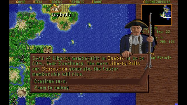 games similar to Sid Meier's Colonization (Classic)
