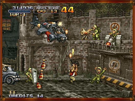 games similar to METAL SLUG