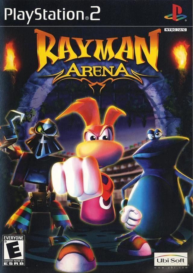 games similar to Rayman Arena