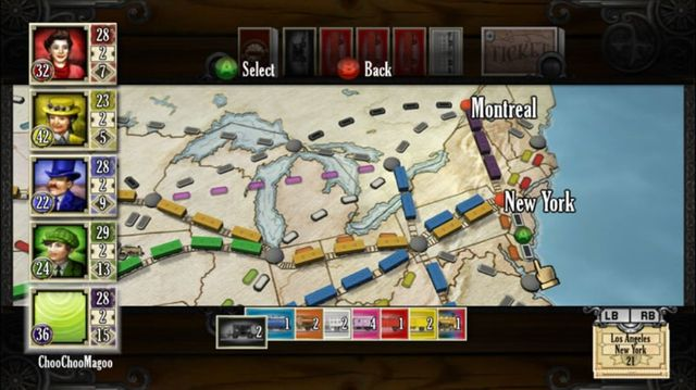 games similar to Ticket to Ride