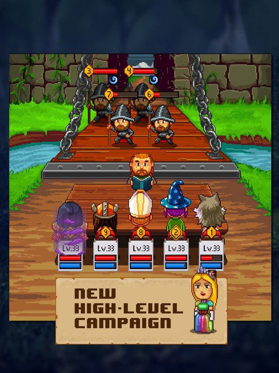 games similar to Knights of Pen and Paper 2