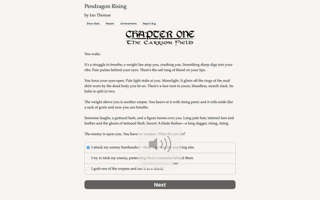 games similar to Pendragon Rising