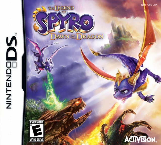 games similar to The Legend of Spyro: Dawn of the Dragon (DS)