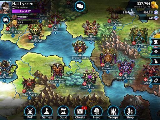 games similar to Gems of War   Match 3 RPG