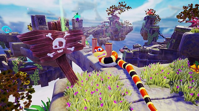 games similar to Snake Pass