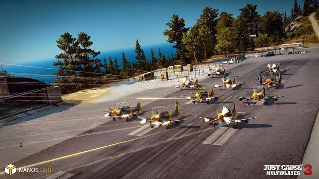 games similar to Just Cause 3: Multiplayer Mod