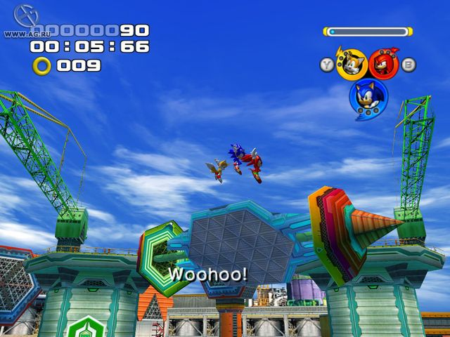 games similar to Sonic Heroes